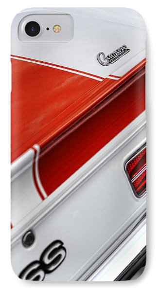 1969 Chevrolet Camaro Ss Indianapolis 500 Pace Car Rear Shot Phone Case by Gordon Dean II