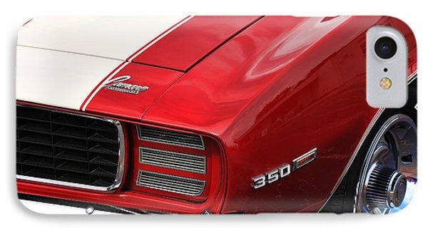1969 Chevy Camaro Rs IPhone Case by Gordon Dean II