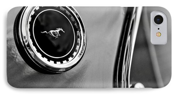 1969 Ford Mustang Mach 1 Side Emblem Phone Case by Jill Reger