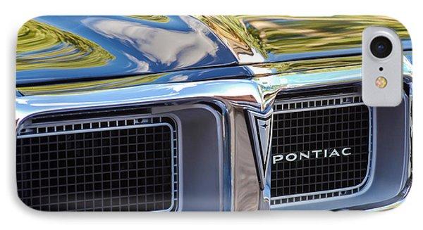 1969 Pontiac Firebird 400 Grille Phone Case by Jill Reger