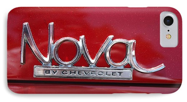 1970 Chevy Nova Logo IPhone Case by John Telfer