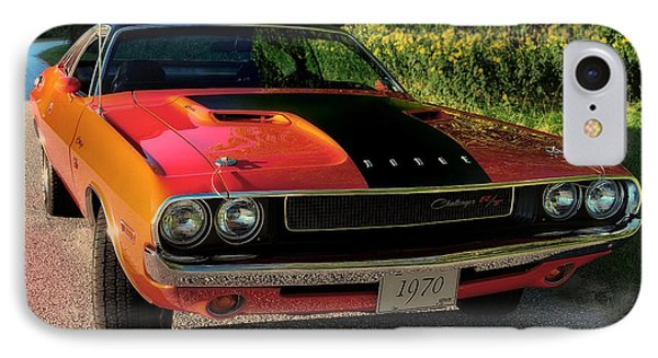 1970 Dodge Challenger Rt IPhone Case