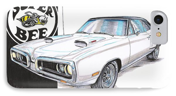 1970 Dodge Super Bee IPhone Case by Shannon Watts