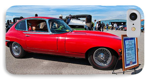 1970 Jaguar Xke 2 Plus 2 Series II Phone Case by Steve Harrington