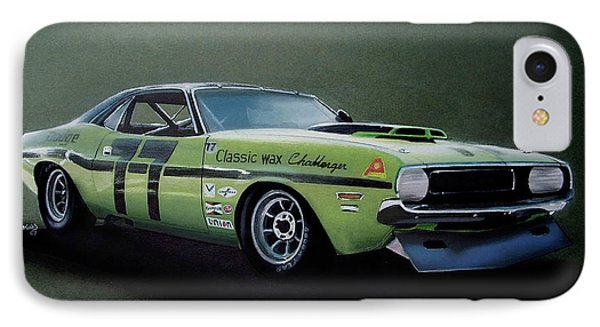 1970's Challenger Race Car IPhone Case
