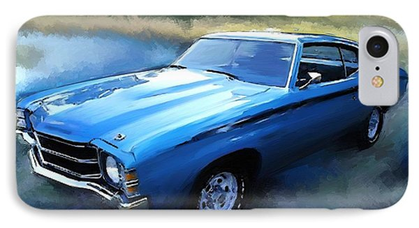1971 Chevy Chevelle Phone Case by Robert Smith
