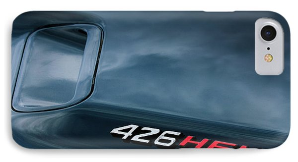 1971 Dodge Hemi Challenger Rt 426 Hemi Emblem IPhone Case