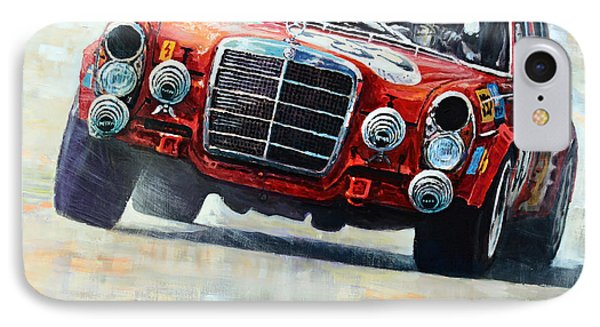 1971 Mercedes-benz Amg 300sel IPhone Case by Yuriy Shevchuk