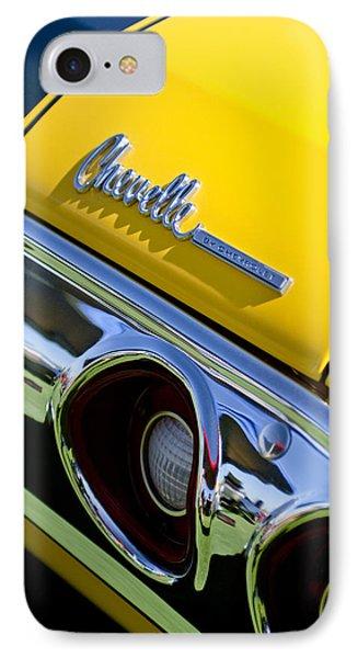 1972 Chevrolet Chevelle Taillight Emblem Phone Case by Jill Reger