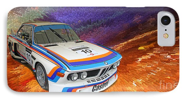 1973 Bmw 3.0 Csl Batmobile Touring Car IPhone Case