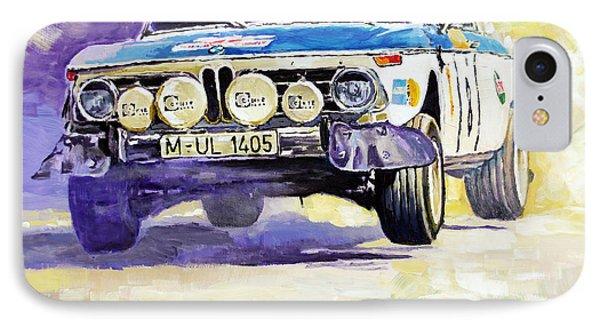 1973 Rallye Of Portugal Bmw 2002 Warmbold Davenport IPhone Case by Yuriy Shevchuk