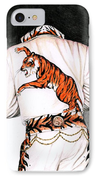 1974 Mad Tiger Suit Phone Case by Rob De Vries