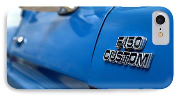 1977 Ford F 150 Custom Name Plate Phone Case by Brian Harig