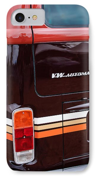 1978 Volkswagen Vw Champagne Edition Bus Taillight Emblem Phone Case by Jill Reger