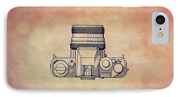 1979 Rollei Camera Patent Art 2 IPhone Case by Nishanth Gopinathan