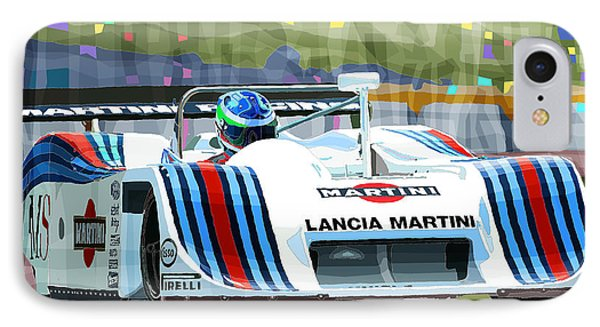 1982 Lancia Lc1 Martini IPhone Case by Yuriy  Shevchuk