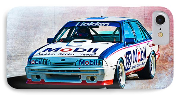 1987 Vl Commodore Group A Phone Case by Stuart Row