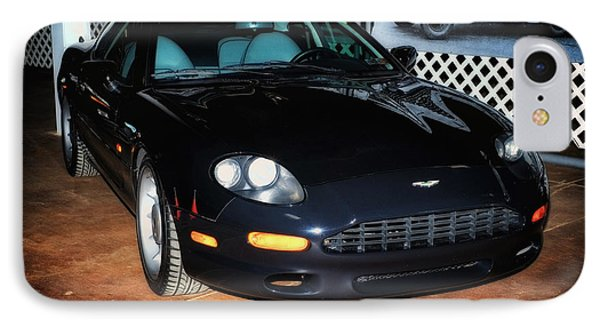 IPhone Case featuring the photograph 1997 Aston Martin Db7 by Boris Mordukhayev
