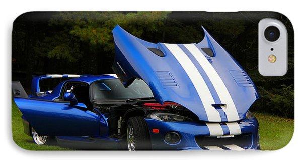 1997 Viper Hennessey Venom 650r 4 IPhone Case by Davandra Cribbie