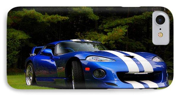 1997 Viper Hennessey Venom 650r IPhone Case by Davandra Cribbie