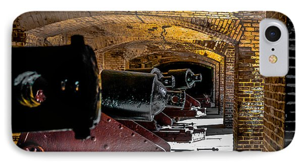 19th Century Cannon Line IPhone Case