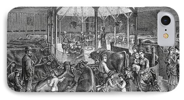 19th Century Dresden Milk Bar IPhone Case