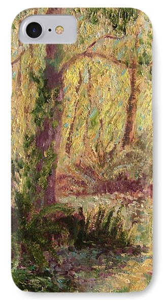 IPhone Case featuring the painting  Rosemary  Creek by Beth Arroyo