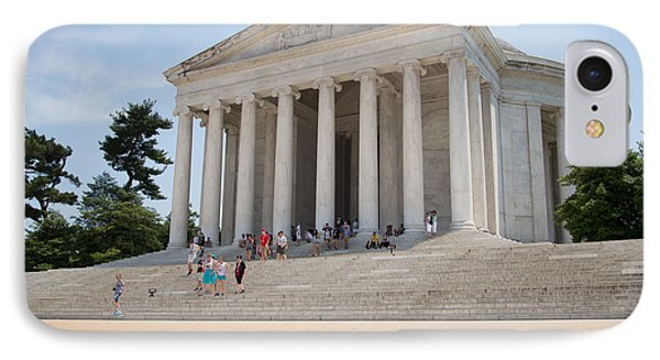 Thomas Jefferson Memorial IPhone Case by Carol Ailles