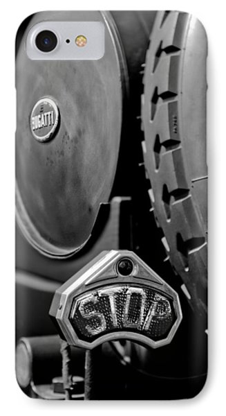 1920 Bugatti Type 13 Taillight IPhone Case by Jill Reger
