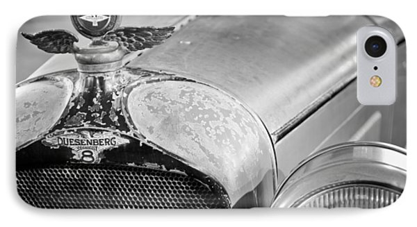 1926 Duesenberg Model A Boyce Motometer - Hood Ornament IPhone Case by Jill Reger