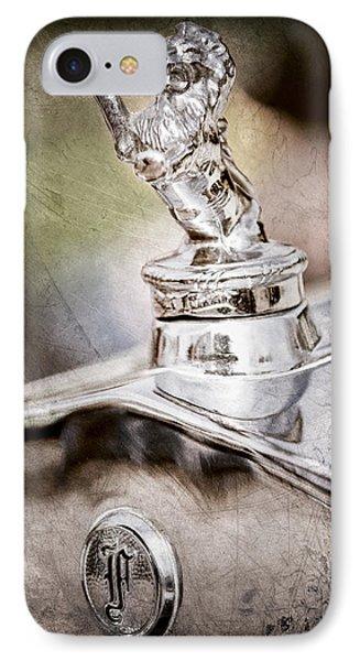 1927 Franklin Sedan Hood Ornament IPhone Case by Jill Reger