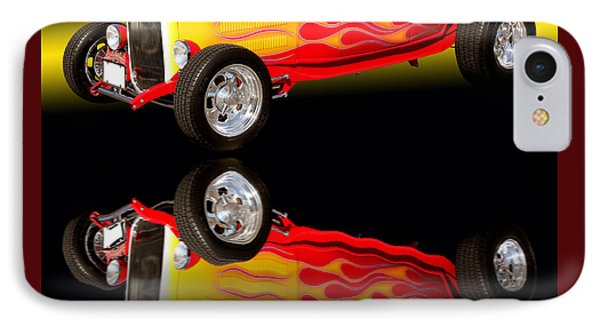 1932 Ford V8 Hotrod IPhone Case by Jim Carrell