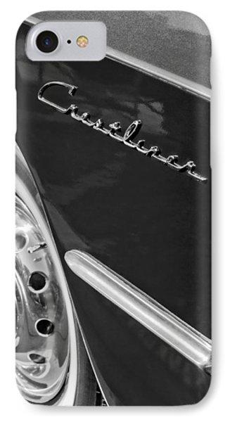 1951 Ford Crestliner Emblem - Wheel Phone Case by Jill Reger