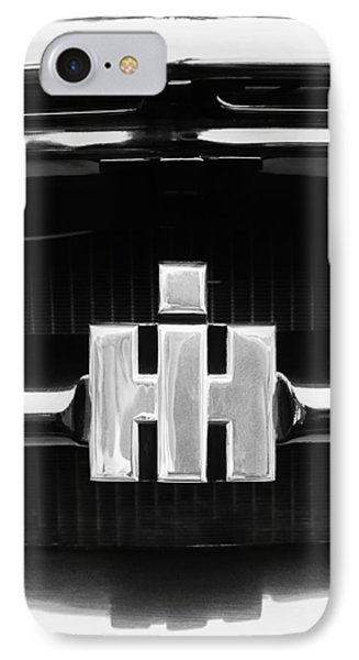 1954 International Harvester R140 Woody Grille Emblem IPhone Case by Jill Reger