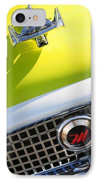 1959 Nash Metropolitan 1500 Convertible Hood Ornament - Grille Emblem Phone Case by Jill Reger