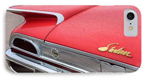 1960 Ford Galaxie Starliner Taillight Emblem Phone Case by Jill Reger