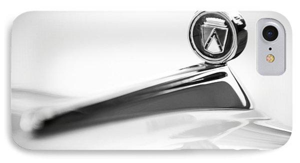 1963 Ford Falcon Futura Convertible  Hood Ornament IPhone Case by Jill Reger