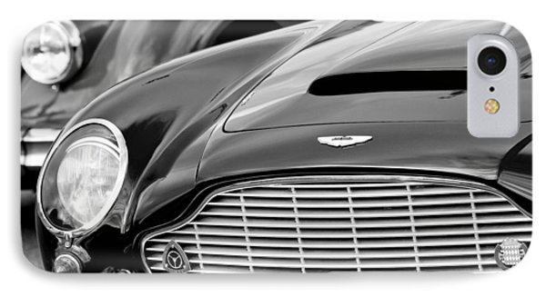 1965 Aston Martin Db6 Short Chassis Volante IPhone Case by Jill Reger