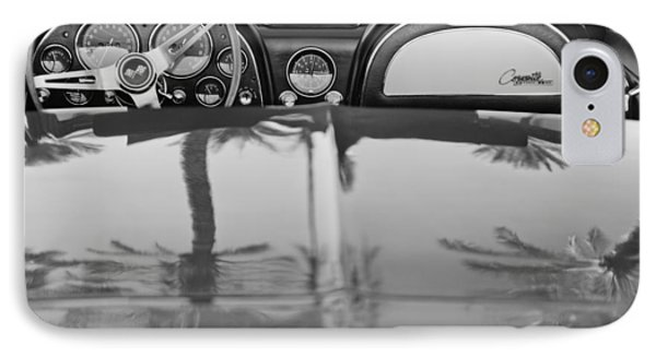 1965 Chevrolet Corvette Sting Ray IPhone Case by Jill Reger