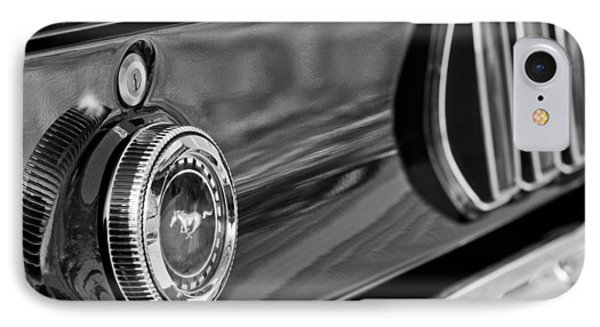 1969 Ford Mustang Taillights Phone Case by Jill Reger
