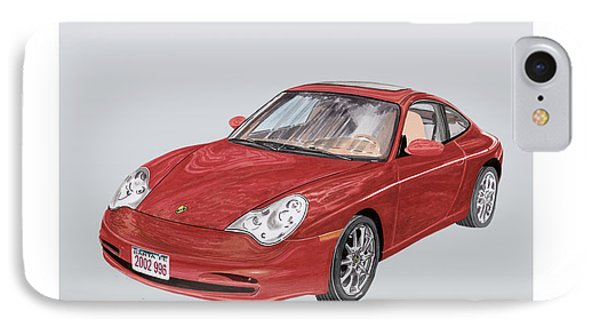 2002 Porsche 996  Phone Case by Jack Pumphrey
