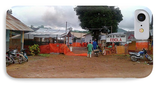2014 Ebola Virus Disease Outbreak IPhone Case by Cdc