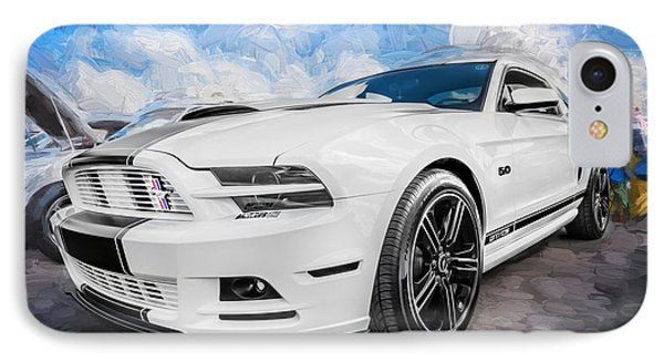 2014 Ford Mustang Gt Cs Painted  IPhone Case
