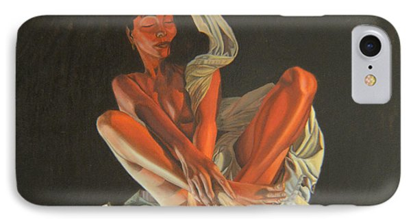 IPhone Case featuring the painting 2 30 Am by Thu Nguyen