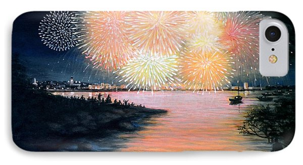 4th Of July Gloucester Harbor Phone Case by Eileen Patten Oliver