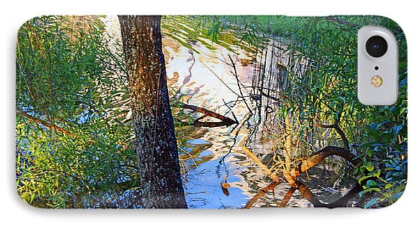 A Colorful Creek IPhone Case by Cora Wandel