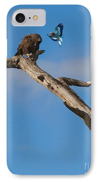 A Confrontation IPhone Case by J L Woody Wooden