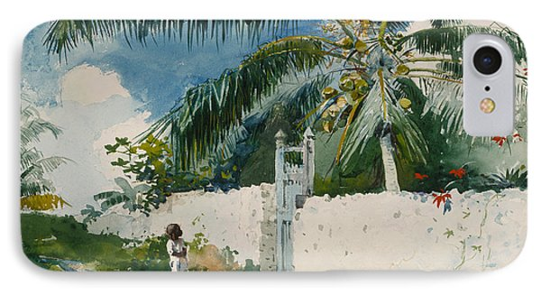 A Garden In Nassau IPhone Case by Celestial Images