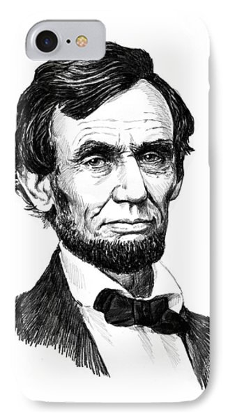 A. Lincoln IPhone Case