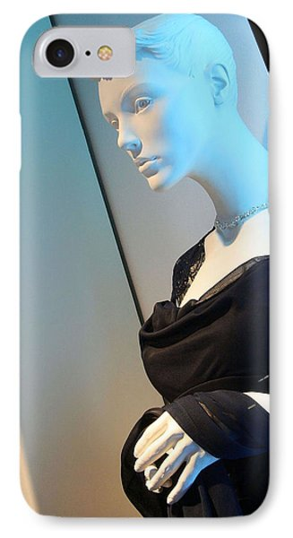 A Mannequin's Blues IPhone Case by Cora Wandel